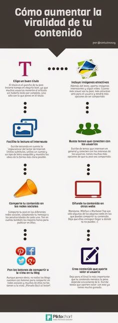 como aumentar la #viralidad de tu #contenido
