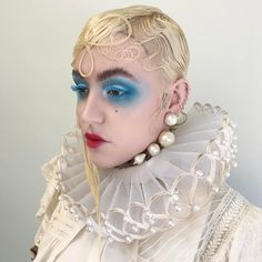 No tears for the creatures of the night. Tokyo Dark, Mtv, Brooke Candy, Drag Clothing, Rocky Horror Show, Runway Makeup, Creatures Of The Night, Club Kids, Festival Makeup