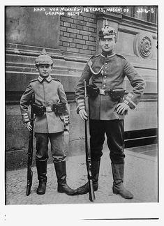 Hans von Minning, 15 years, mascot of German Reg't -- WWI - Library of Congress