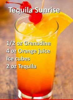 Mixed Drinks Alcohol, Party Drinks Alcohol, Tequila Drinks, Liquor Drinks, Alcohol Drink Recipes, Punch Recipes, Top Recipes, Beverages, Alcohol Shots