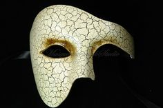 Men Masquerade Mask Phantom of the Opera Venetian Mask for Men Costume Party Prom Half Face Mask via Etsy