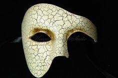 Men Masquerade Mask Phantom of the Opera Venetian Mask for Men Costume Party Prom Half Face Mask via Etsy