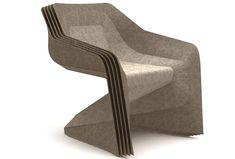Cadeira feita de maconha / Hemp made chair