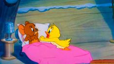 Cartoon Fragment Tom and Jerry - Little Quacker is a 1950 American one-reel animated cartoon and is the Tom and Jerry short directed by William Hanna an. Tom And Jerry Gif, Tom And Jerry Cartoon, Cartoon Crazy, Cute Cartoon, William Hanna, Tex Avery, Donald And Daisy Duck, Morning Cartoon, Disney Toms