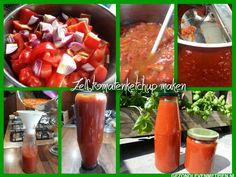 Ketchup uit de winkel bevat vaak troep. Tomatenketchup zelf maken is dé oplossing. Met dit recept maak je een houdbare versie die eerst weken moet 'rijpen'.