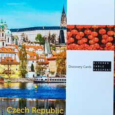 Check out Czech Republic!   Kitchen Table Passport featured Czech Republic in the box that shipped in January 2016.  Fun facts, herbs and spices and a recipe to make a local dish, local mementos, and a playlist - Explore the World from Your Kitchen Table!  www.kitchentablepassport.com