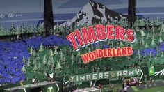 The Timbers Army turned Providence Park into a Timbers Wonderland on Sunday with a tifo celebrating the team and the Pacific Northwest. Take a look.
