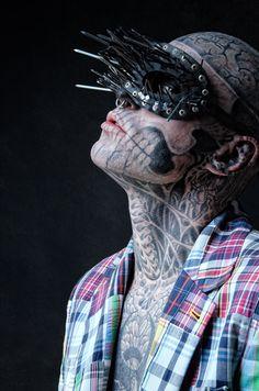 Zombie boy shot by Bartek Sejwa