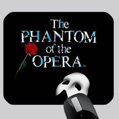 cool PHANTOM OF THE OPERA PHOTO MOUSE PAD