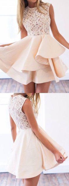 vestidos-de-fiesta-cortos-color-crudo-bordado
