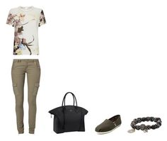 """""""Untitled #277"""" by madebyaliciap ❤ liked on Polyvore featuring TOMS, Louis Vuitton, Maggie, Valentino and Carole Shashona"""