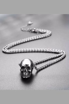 f5fb0193e74e Skull Pendant Necklace Product Details  Made from Highest Quality 316L  Stainless Steel Available in Gold