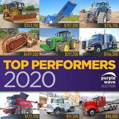 Purple Wave Auction (@purplewave) / Twitter Used Equipment, Heavy Equipment, Heavy Duty Trucks, Used Trucks, Heavy Machinery, Sale Promotion, Online Marketing, Tractors, Online Business