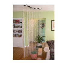 THE WAVE 8' Diamond Crystal Curtain or Room Divider by ShopWildThings. $49.99