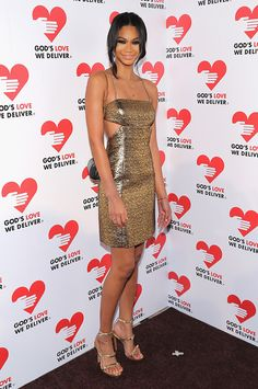 Chanel Iman – 2012 Gold Heart Awards Celebration