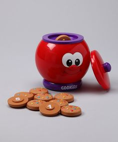 Count & Learn Cookie Jar by The Learning Journey #zulily #zulilyfinds