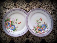 Vintage Mid Century Lustreware Dessert or by merrilyverilyvintage