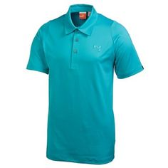 Puma Golf Mens Duo Swing Polo Shirt Duo Swing engineered sleeves for freedom of movement Self fabric collar Three button placket coolCELL mesh ventilation at back Cool Max Everyday body fabric for moisture management Embroidered Puma Ca http://www.MightGet.com/march-2017-1/puma-golf-mens-duo-swing-polo-shirt.asp