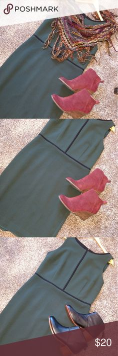 Loft dress Only worn once and freshly dry cleaned with the tags still on. LOFT Dresses Midi