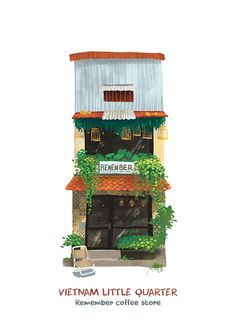 [Illustrations] Local Artists Bring Saigon's Eclectic Shopfronts to Life…