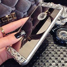 Sale Preis: iPhone 6 Plus Case, UnnFiko Beauty Luxury Diamond Hybrid Glitter Bling Soft Shiny Sparkling with Glass Mirror Back Plate Cover Case for Apple iPhone 6 Plus (5.5 Inch) - Retail Packaging (Gold). Gutscheine & Coole Geschenke für Frauen, Männer und Freunde. Kaufen bei http://coolegeschenkideen.de/iphone-6-plus-case-unnfiko-beauty-luxury-diamond-hybrid-glitter-bling-soft-shiny-sparkling-with-glass-mirror-back-plate-cover-case-for-apple-iphone-6-plus-5-5-inch-retail-