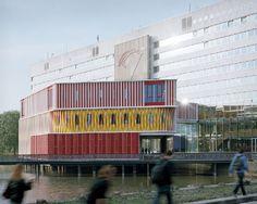 Paviljoen EBR-bibliotheek_Groningen_PvanB