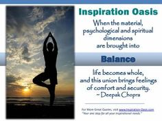 Poster - Balance - Free When You Signup for my Ezine at   http://www.inspiration-oasis.com/free-inspirational-posters.html