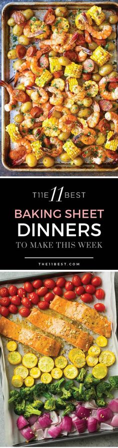 Baking Sheet Dinners to Make this Week