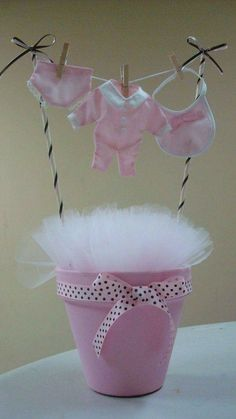 What is Baby shower? A baby shower gets relatives and friends to participate in the special event before baby comes on the scene! Considering the idea dojos for party invitations, gender reveals and girl or boy themes, you have your Girl Baby Shower Decorations, Baby Shower Centerpieces, Baby Shower Favors, Baby Shower Parties, Baby Shower Themes, Baby Shower Gifts, Baby Gifts, Shower Ideas, Tulle Centerpiece