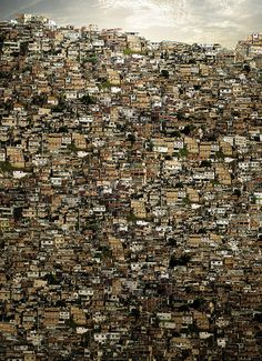 Favelas (slums) in Brazil. I want to make a difference in the slums.