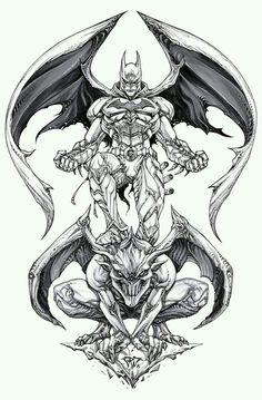 Batman by Paolo Pantalena * Batman Drawing, Batman Artwork, Marvel Dc Comics, Anime Comics, Comic Books Art, Comic Art, Anubis Drawing, Drawing Sketches, Art Drawings