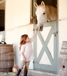 Must add Dutch Door to Horse Stall in Barn!