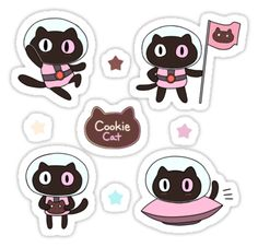 """cookie cat (Steven Universe)"" Stickers by cloudydog 