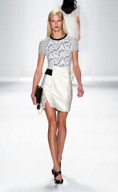 J Mendel S/S 2014 New York Fashion Week