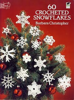 Barbara Christopher: 60 crocheted snowflakes