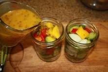 Mustard Pickles , Senfgurken