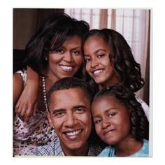 Obama Family Photos through the year