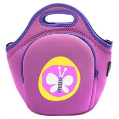 The insulated lunch bag with pockets have a popular and purple appearance, its material is eco-friendly neoprene. It has a pocket. Back To School Sales, Back To School Shopping, Eco Kids, Neoprene Lunch Bag, Insulated Lunch Bags, Building For Kids, Trendy Kids, Backpacks, Purple