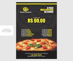 Panfleto pizzaria