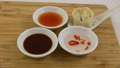 Thai Dipping Sauce - coconut, chilli, coriander and lime. Fantastic with dumplings, spring rolls, rice paper rolls, seafood, chicken meatballs....