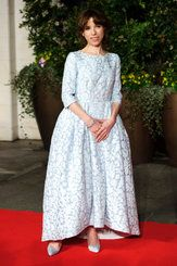 Ms. Hawkins in Mulberry at the British Academy Film Awards.