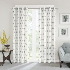 Shop for INK IVY Ory Metallic Ikat Printed Curtain Panel. Free Shipping on orders over $45 at Overstock.com - Your Online Home Decor Outlet Store! Get 5% in rewards with Club O!