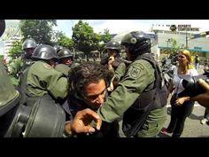 Miercoles de incontables detenciones / CARACAS 14 M