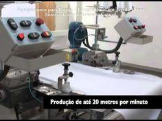 Máquina de Costura longitudinal para tecido plano Inarmeg (Embanhador Ca...