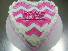 Show the love at your Valentine's Day Party with this adorable cake! Order yours this February at www.DQCakes.com