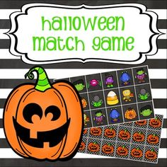 This interactive match game is the perfect way to add some Halloween fun to your classroom. Great for utilizing technology, your kids will have a blast matching the fun Halloween images. This product can be used individually, in small groups or with the whole class.