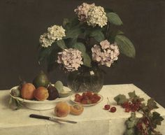 The Athenaeum - La Table Garnie (Henri Fantin-Latour - )
