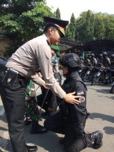 Tangkal Teroris dan Gangguan Kamtibmas Polres Gresik Bentuk Tim Black Panther