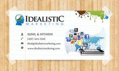 Custom & Unique Business Card Design