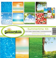 Reminisce SUM200 Summertime Scrapbook Collection Kit *** You can find out more details at the link of the image.Note:It is affiliate link to Amazon.